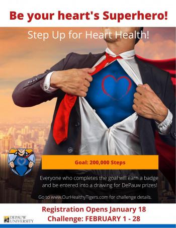 Step up for heart health session banner sample